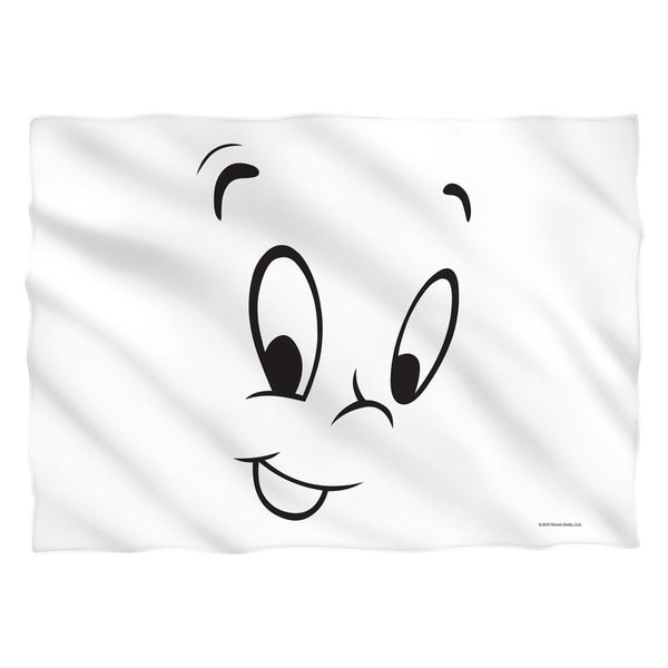 Casper The Friendly Ghost/Face (Front/Back Print) Pillowcase Pillowcase