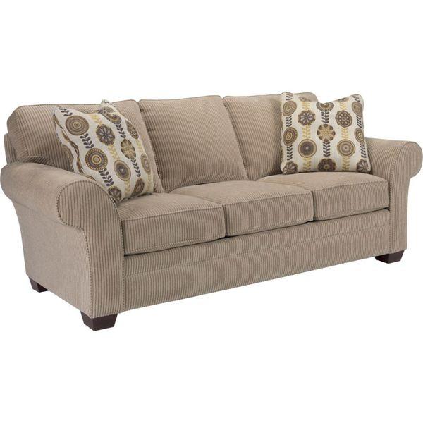 Broyhill Zachary Beige Sofa Free Shipping Today