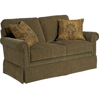 Broyhill Audrey Brown Loveseat