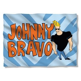 Johnny Bravo/Logo Pillowcase