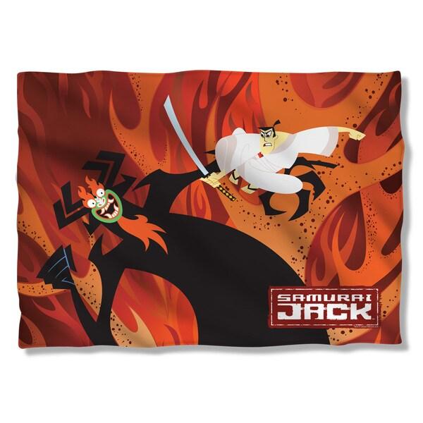 Samurai Jack/Epic Battle (Front/Back Print) Pillowcase
