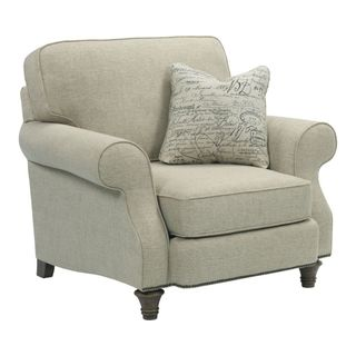 Broyhill Whitfield Cream Chenille Chair
