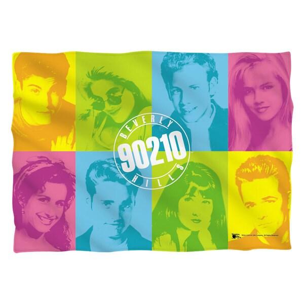 Beverly Hills 90210/Color Blocks   Pillowcase
