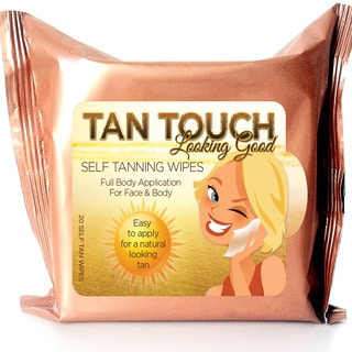 Tan Touch Sunless Bronze Self Tanning 20-piece Towelettes