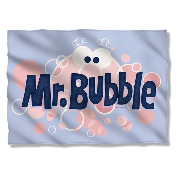 Mr Bubble/Eye Logo (Front/Back Print) Pillowcase