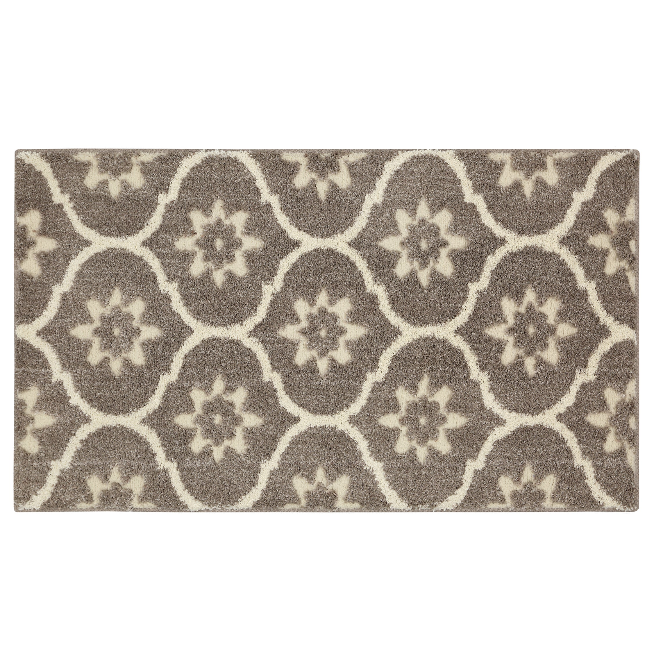 MOHAWK Home Loft Gray Tiles Grey Area Rug (2'1 x 3'8) (Gr...