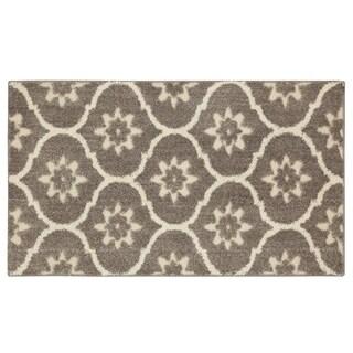 Mohawk Home Loft Gray Tiles Grey Area Rug (2'1 x 3'8)