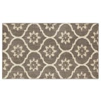 Mohawk Home Loft Gray Tiles Grey Area Rug (2'1 x 3'8) - 2'1 x 3'8