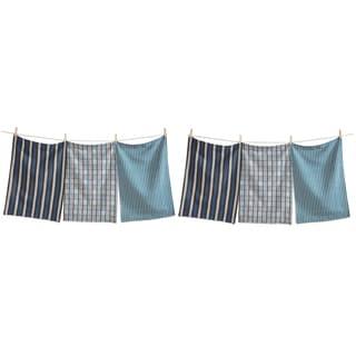 TAG Fall Chevron Stripe Dishtowel (Set of 6)