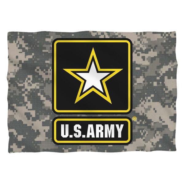 Army/Patch Pillowcase