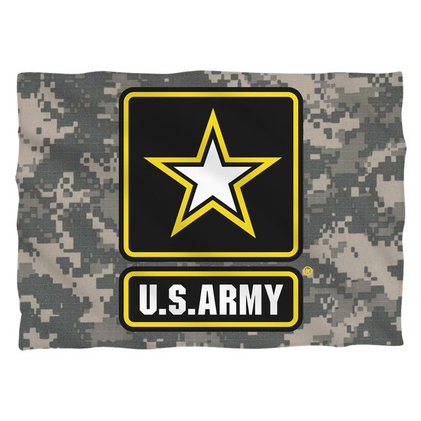 Army/Patch (Front/Back Print) Pillowcase
