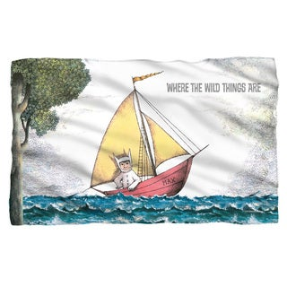 Where The Wild Things Are/Max'S Boat White Polyester Blanket