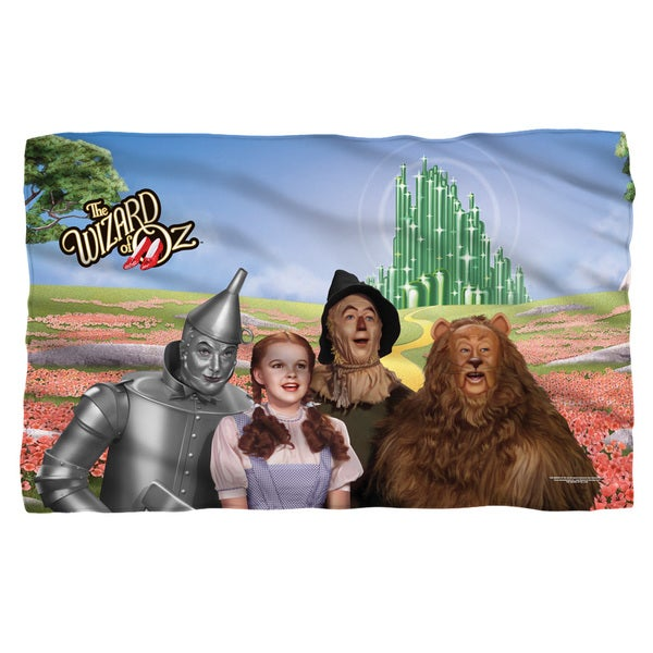 Wizard Of Oz/Emerald City White Polyester Blanket