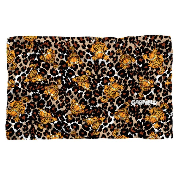 Garfield/Wild Cat White Polyester Blanket