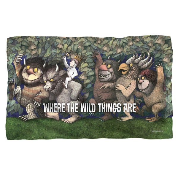 Where The Wild Things Are/Wild Rumpus Dance Fleece Blanket in White