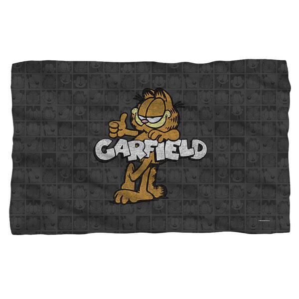 Shop Garfield Retro Fleece Blanket In White Overstock 12246343