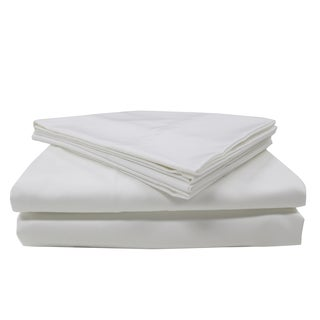 Wrinkleless Plus Coolest Comfort 400 Thread Count Sateen Cotton Sheet Set