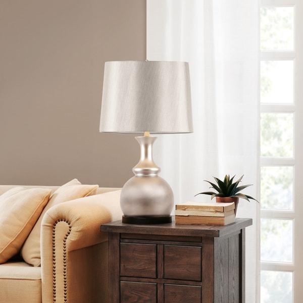 Madison Park Signature Morgan Silver Table Lamp