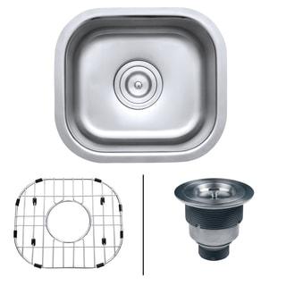 Ruvati RVM4136 16-gauge Stainless-steel 13-inch x 15-inch Undermount Bar Prep Sink