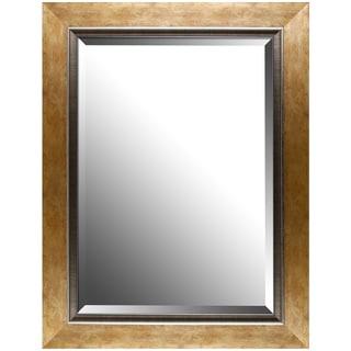 Hobbitholeco Copper Aluminum Gradient Frame Beveled Mirror