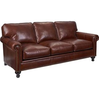 Broyhill Harrison Leather Sofa