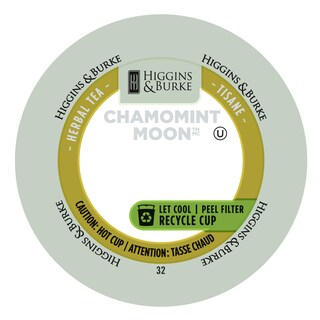 Higgins & Burke Chamomint Moon Loose-leaf Herbal Tea RealCup Portion Pack For Keurig Brewers