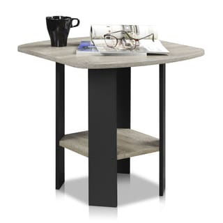 Furinno Simple Design Side Table Set Of 2 (Option: Table Sets)