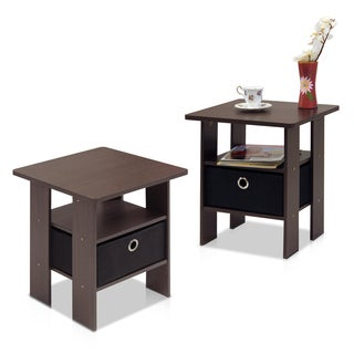 Furinno 11157 End Table/Nightstand