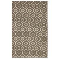Mohawk Home Loft Gray Tiles Grey Area Rug (5' x 8') - 5' x  8'