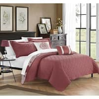 Chic Home Pandora Brick 5-piece Quilt Set