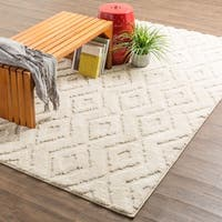 Mohawk Home Loft Hampshire Cream Area Rug (5' x 8') - 5' x  8'