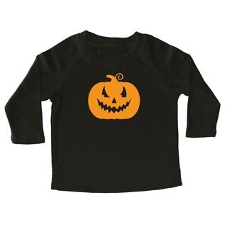 Rocket Bug Halloween Pumpkin Cotton Long Sleeve Shirt