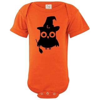 Rocket Bug Halloween Owl Cotton Baby Bodysuit