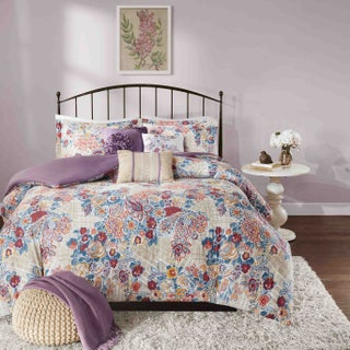 Madison Park Raylene Multi Cotton 6-piece Duvet Cover Set (2 options available)