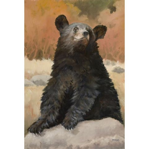 WGI Gallery Wood Bear Cub Wall Art