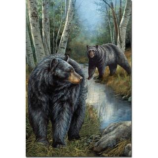 WGI Gallery 'Birchwood Bears' Wall Art Printed on Wood