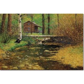 WGI Gallery 'Autumn Hideaway' Wall Art Printed on Wood