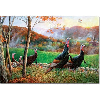 WGI Gallery Wood Autumn Glory Turkey Wall Art