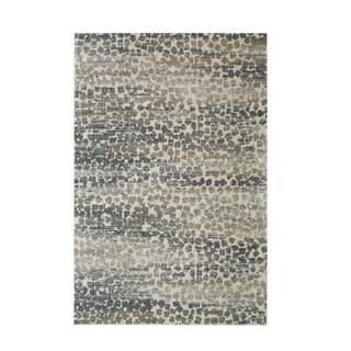 Karastan Studio Serenade Gamba Gray Area Rug (5'3 x 7'10)
