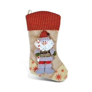 Puzzled Inc. Stylish Santa Stocking