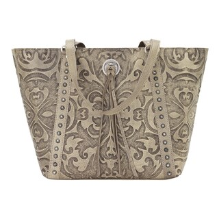 American West Baroque Leather Tote