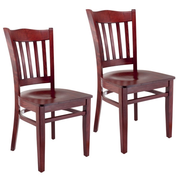 Solid Oak Dining Chairs: Shop Solid Wood Americana Dining Chairs (Set Of 2)