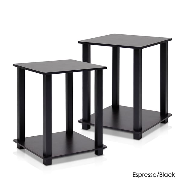 Furinno Simplistic End Table (Set Of 2)