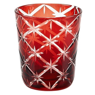 Starlight Glass Ruby Tumbler