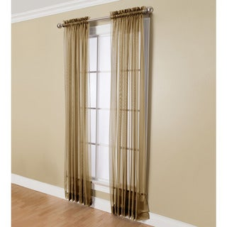 Miller Curtains Angelica 84-inch Sheer Curtain Panel with Rod Pocket