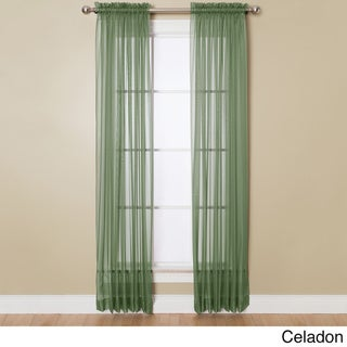 Miller Curtains Angelica 59-inch x 63-inch Rod Pocket Sheer Panel