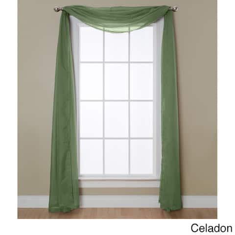 Miller Curtains Angelica Sheer Scarf