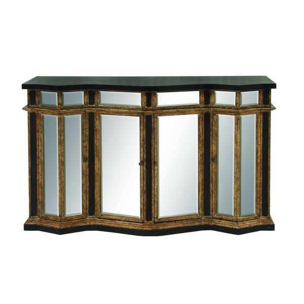 Mirrored Buffet Cabinet