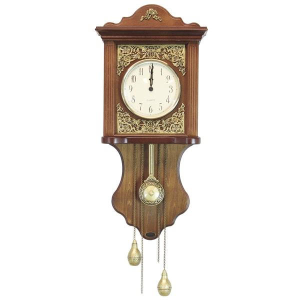 Uniquewise wood european style pendulum wall clock free shipping today 19089663 - Stylish pendulum wall clock ...