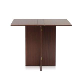 Porch & Den Tillotson Simple Folding Walnut Table